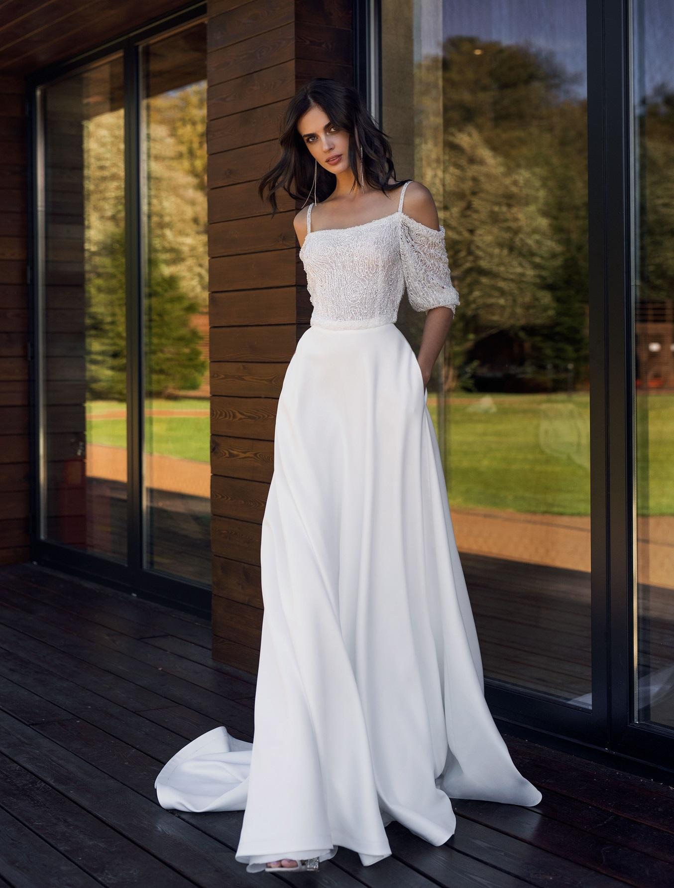 Красивые свадебные платья 2019 фото новинки, воздушным
